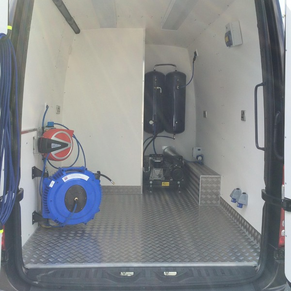 Mercedes Sprinter XLWB Alloy Wheel Repair Van